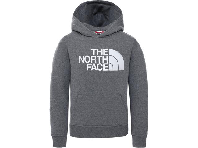 The North Face Drew Peak Pull À Capuche Enfant, TNF medium grey heather